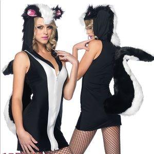 Stinkin' Cute Skunk Halloween Costume